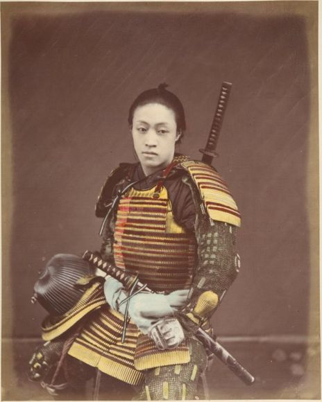 1146f3efb3b2f6fd8141f352c5452e28--vintage-photos-samurai-armor